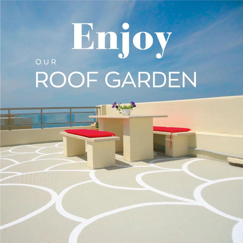 roof garden banner